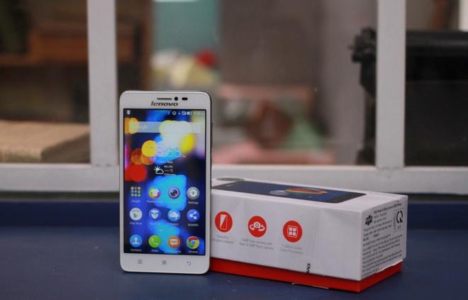 Mo hop smartphone man hinh 5 inch gia 5,4 trieu cua Lenovo hinh anh