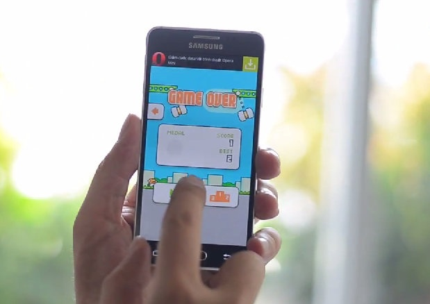 Choi thu game moi Swing Copters cua Nguyen Ha Dong hinh anh