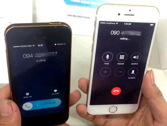 iPhone 6 ban khoa mang cua Nhat da bi be khoa tai VN hinh anh