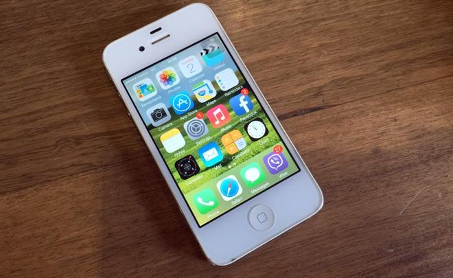 iPhone 4 cu gia 3 trieu, mon hang hieu o que hinh anh