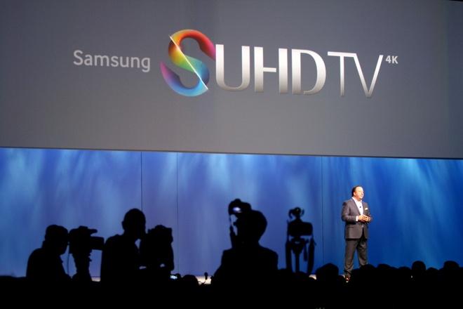 Samsung trinh lang SUHDTV chay Tizen tai CES 2015 hinh anh