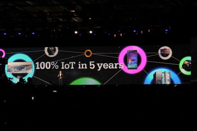 Samsung thach thuc Google va Apple voi Internet of Things hinh anh