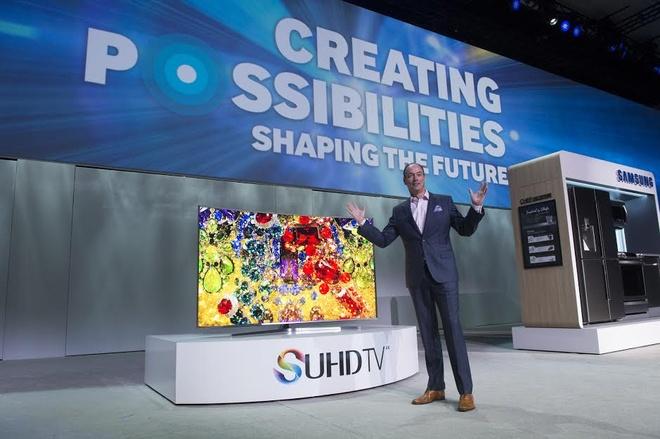 TV SUHD cua Samsung co mat tai VN trong thang 4 hinh anh