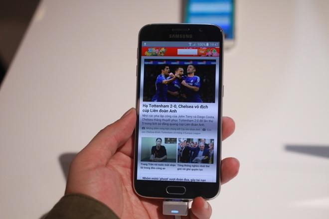 Thuc te Galaxy S6 - kim loai nguyen khoi, thiet ke dep hinh anh