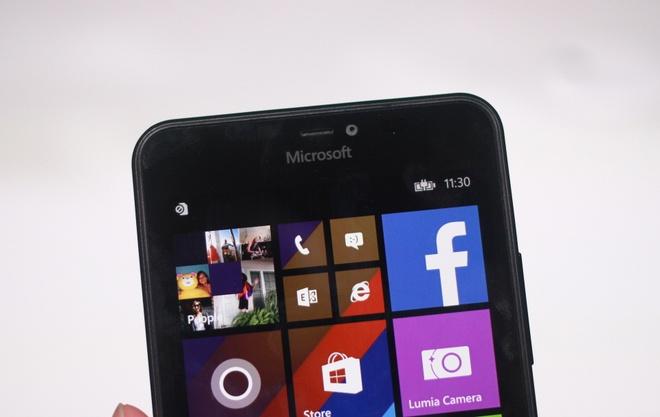 Lumia 640 XL - smartphone gia re, man hinh lon sap ve VN hinh anh