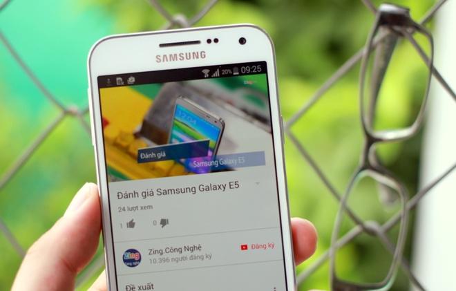 Danh gia Samsung Galaxy E5 hinh anh
