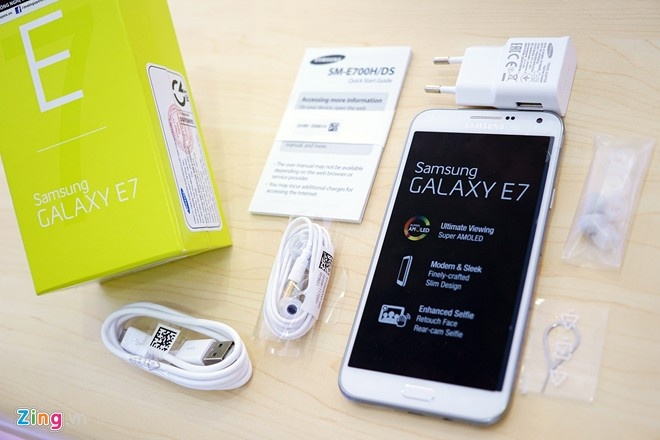 So sanh Samsung Galaxy E7 va Asus Padfone S hinh anh