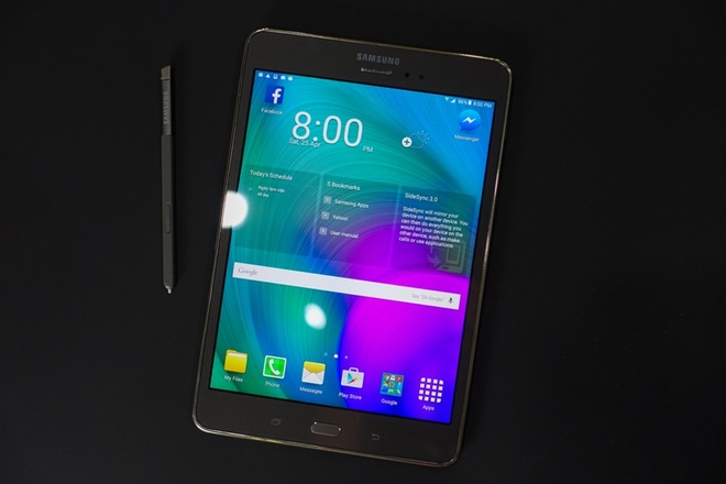 Samsung Galaxy Tab A lo dien o VN hinh anh