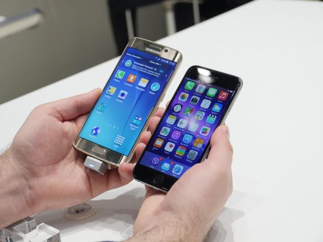 Cuoc thu hung giua Samsung va Apple cuoi 2015 hinh anh