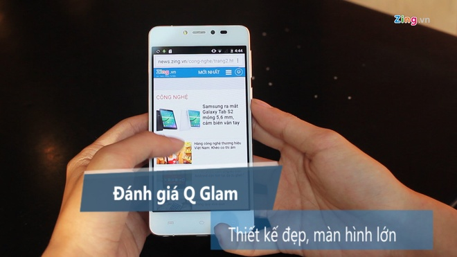 Danh gia di dong Q Glam hinh anh