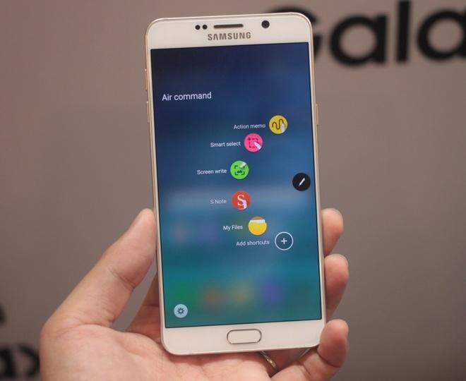 Trai nghiem nhanh Samsung Galaxy Note 5 hinh anh