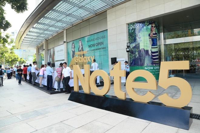 Samsung: Galaxy Note 5 se tao ky luc o Viet Nam hinh anh