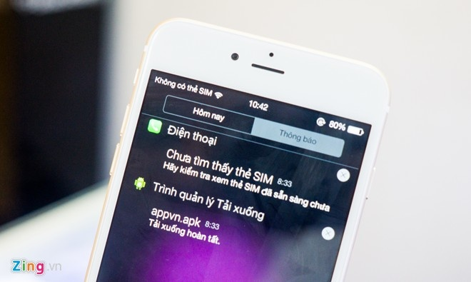 Dung thu iPhone 6 Plus nhai tuong tu hang xin hinh anh