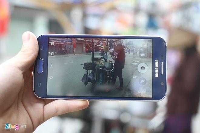 Dung thu Samsung Galaxy S6 nhai o Viet Nam hinh anh