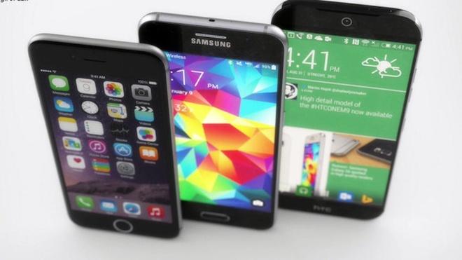 Nhung smartphone man hinh gon, cau hinh manh o VN hinh anh
