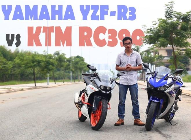 Yamaha YZF R3 do KTM RC390 tai Viet Nam hinh anh