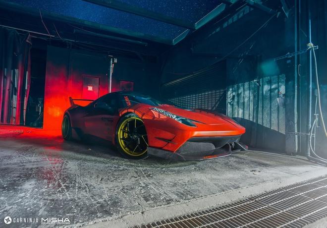 Ferrari 458 Italia do ham ho hinh anh 1