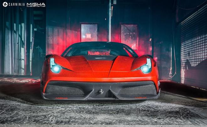 Ferrari 458 Italia do ham ho hinh anh