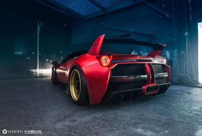 Ferrari 458 Italia do ham ho hinh anh 3