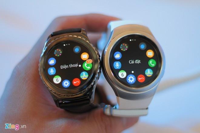 Trai nghiem nhanh Samsung Gear S2 tai Viet Nam hinh anh