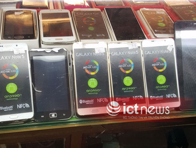 iPhone 6S, Note 5 hang nhai ban ngap cho cua khau Tan Thanh hinh anh