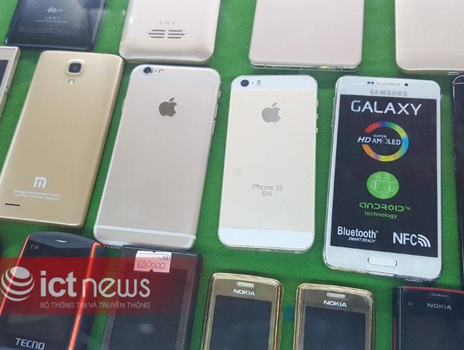iPhone 6S, Note 5 hang nhai ban ngap cho cua khau Tan Thanh hinh anh 4