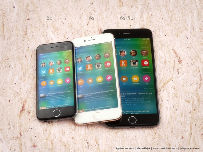 iPhone 6C: Man hinh 4 inch, gia 500 USD hinh anh