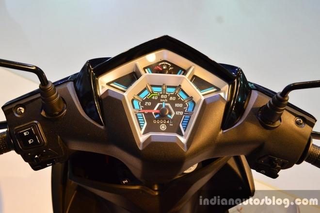 Yahama tung Cygnus Ray-ZR canh tranh voi Honda Lead hinh anh 3