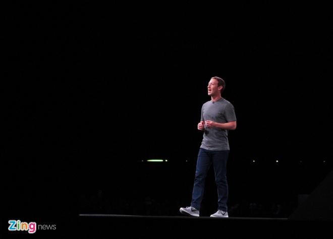 Mark Zuckerberg gay nao loan o le ra mat Galaxy S7 hinh anh 4