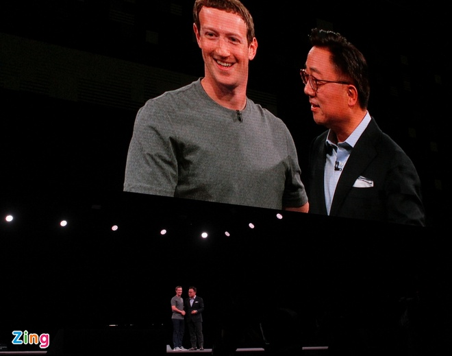 Mark Zuckerberg gay nao loan o le ra mat Galaxy S7 hinh anh 7