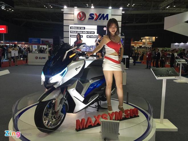 Trien lam xe may 2016: Sieu xe dua Yamaha den Viet Nam hinh anh 5