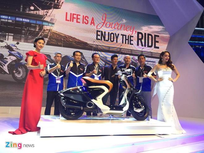 Trien lam xe may 2016: Sieu xe dua Yamaha den Viet Nam hinh anh 10