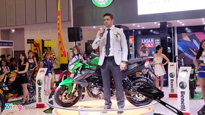 Trien lam xe may 2016: Sieu xe dua Yamaha den Viet Nam hinh anh 13