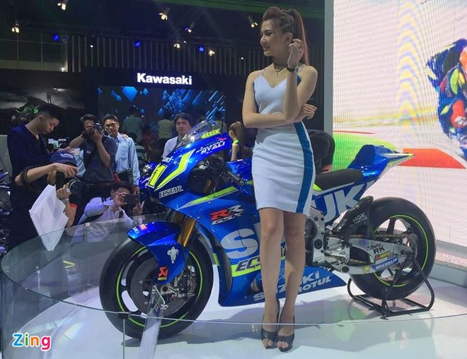 Trien lam xe may 2016: Sieu xe dua Yamaha den Viet Nam hinh anh 11