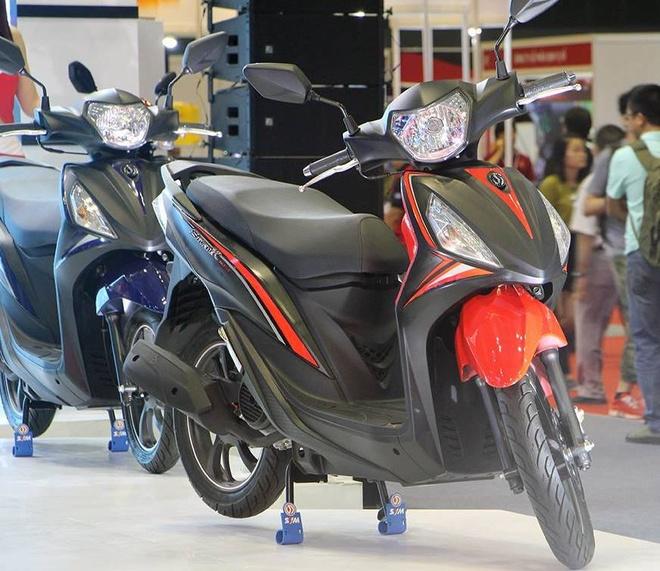 Trien lam xe may 2016: Sieu xe dua Yamaha den Viet Nam hinh anh 6