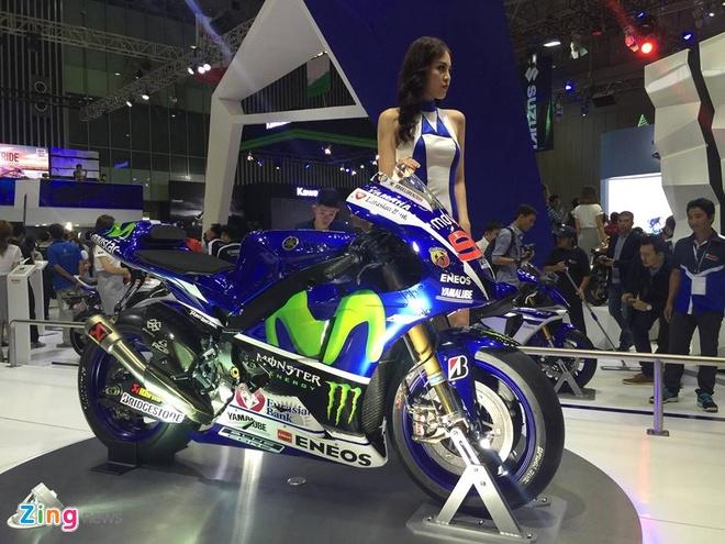 Trien lam xe may 2016: Sieu xe dua Yamaha den Viet Nam hinh anh 9