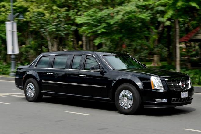 Mat danh 14 xe ho tong Tong thong Obama o Sai Gon hinh anh