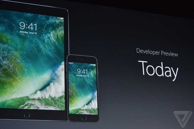 Apple ra mat iOS 10 hinh anh