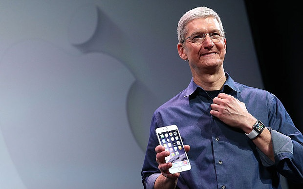 Chan dung Tim Cook: Vi CEO kin tieng nhat lang cong nghe hinh anh