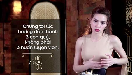 10 phat ngon an tuong cua Ho Ngoc Ha tai The Face hinh anh