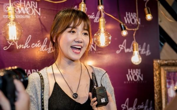 Hari Won: 'Thich nhat ban cover Anh cu di di cua Hoa Minzy' hinh anh