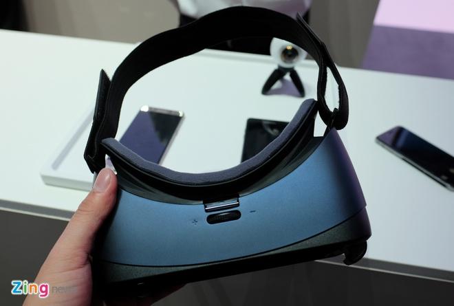 Anh thuc te Samsung Gear VR cho Galaxy Note 7 hinh anh 1