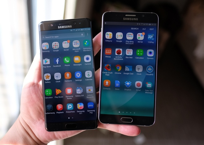 Galaxy Note 7 so thiet ke voi Note 5 hinh anh