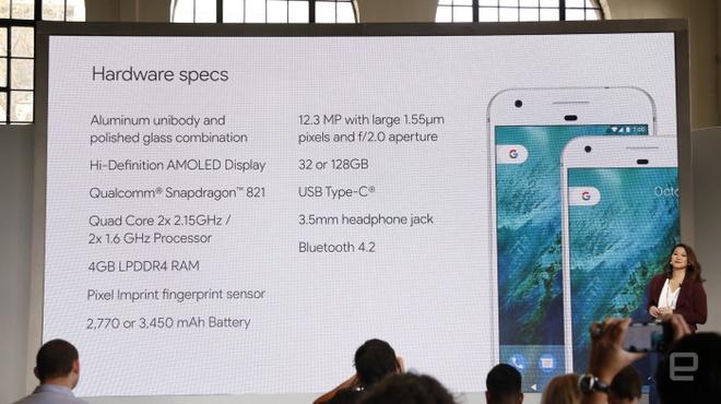 Google ra mat Pixel va Pixel XL: Giong iPhone, camera tot hinh anh 2