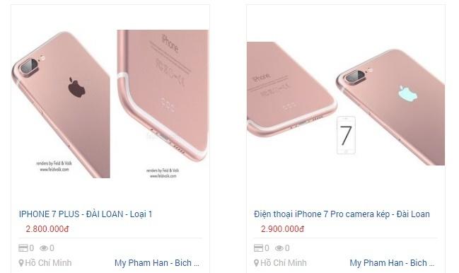 Giap Tet, iPhone 7 hang nhai tung hoanh tren kenh ban online hinh anh 1