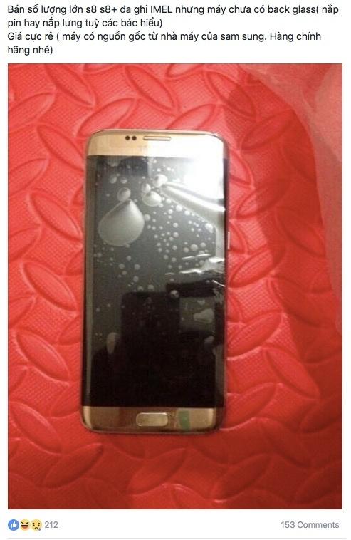 Rao ban Galaxy S8 'chom' tu nha may Samsung Thai Nguyen hinh anh 1
