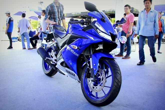 Yamaha YZF-R15 2017 xuat hien tai Viet Nam hinh anh