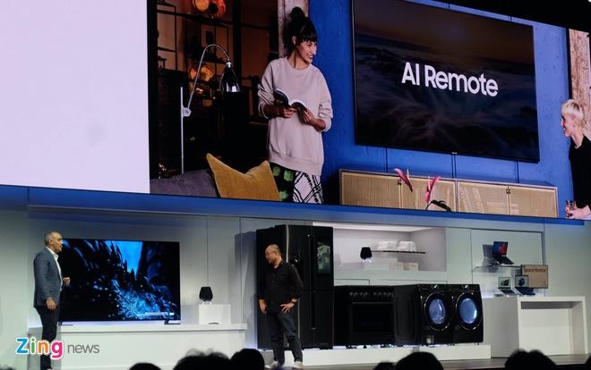 Samsung dua AI vao robot, xe hoi, tu lanh tai CES 2019 hinh anh 1