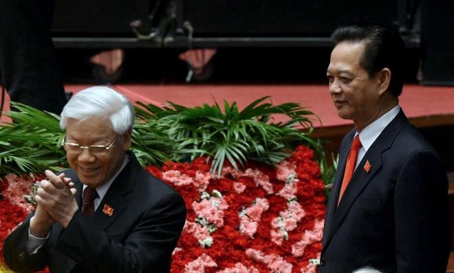 'Chi co dong chi Nguyen Phu Trong ung cu Tong bi thu' hinh anh