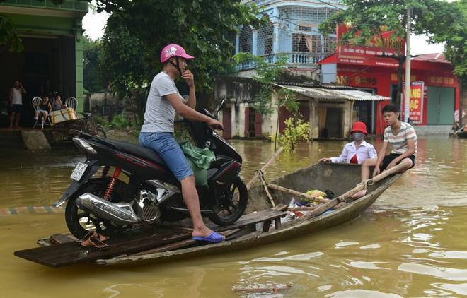Cho do qua duong kiem tien trieu o Ninh Binh hinh anh